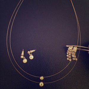 Jewelry - Bridal/Prom necklace and earrings set